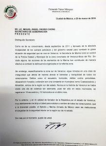 CARTA A OSORIO CHONG