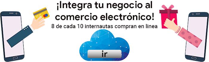 !Integrate al comercio electrónico¡ Estrategias en la Nube